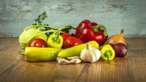 warzywa w diecie